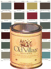 Authentic Colours Crafted By Masters Of 18th And 19th Century Color Fidelity Fifth Generation Paintmakers The Old Village Paint Craftsmen Create