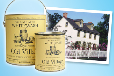 Old Village Acrylic Latex Simulated Whitewash